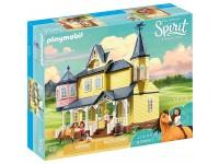 PLAYMOBIL SPIRIT 9475 - CASA DI LUCKY