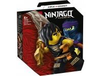 LEGO NINJAGO 71733 - BATTAGLIA EPICA - COLE VS GUERRIERO FANTASMA