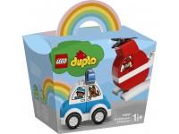LEGO DUPLO 10957 - ELICOTTERO ANTINCENDIO E AUTO DELLA POLIZIA
