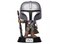 Star Wars Funko POP Film Vinile Figura Il Mandaloriano 9 cm Scatola Rovinata