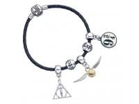 Harry Potter Leather Braccialetto Ciondolo Set Doni Della Morte/snitch/binario 9 3/4/2 Spellbeads Carat Shop, The