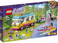 LEGO FRIENDS 41681 - CAMPER VAN NELLA FORESTA E BARCA A VELA