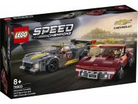 LEGO SPEED CHAMPIONS 76903 - CHEVROLET CORVETTE C8.R E 1968