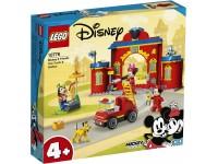LEGO DISNEY MICKEY MOUSE 10776 - CASERMA DEI POMPIERI E FUORISTRADA ANTINCENDIO