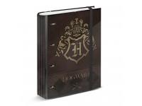 Harry Potter Raccoglitore Marrone e Oro con 4 Anelli Griglia Karactermania
