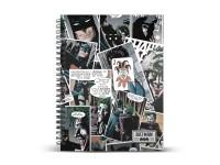 Joker Agenda A4 Carta a Griglia Comic Karactermania