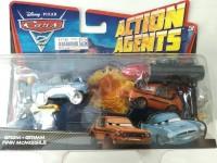 Cars 2 Action Agents Battle Pack Mattel