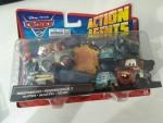 Cars 2 V4245 Action Agents Battle Pack Mattel