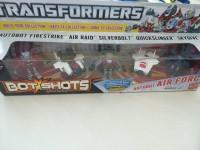 A2833 Bot Shots Autobot Polar Assault Hasbro SCATOLA ROVINATA