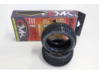 Gomme 6Mik Racing Weapon 15/25°C Off-Road 1:8 Buggy Modellino SCATOLA ROVINATA