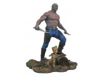 Marvel Gallery Gogt 2 Drax & Baby Groot 23 cm Diamond Select