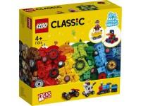 LEGO CLASSIC 11014 - MATTONCINI E RUOTE SCATOLA ROVINATA
