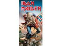 Iron Maiden Telo Mare Asciugamano Il Soldato 150 X 75 Cm Kkl