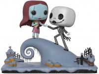 Disney Nightmare Before Christmas Funko Pop Film Vinile Figura Jack E Sally sulla Collina
