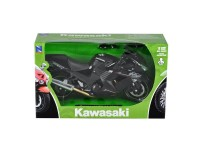 New Ray NY57433 KAWASAKI NINJA ZX-14 2011 BLACK 1:12 Modellino SCATOLA ROVINATA