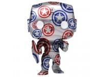 Avengers Funko Pop Serie Arte Vinile Figura Captain America Esclusiva 9 cm