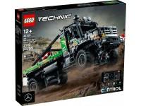 LEGO TECHNIC 42129 - CAMION FUORISTRADA 4X4 MERCEDES-BENZ ZETROS SCATOLA ROVINATA