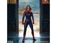 Captain Marvel Action Figura 1/12 Captain Marvel 16 Cm Mezco Toys