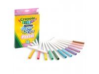 Crayola Super Tips Pastel set 12 Pennarelli Crayola