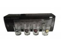 Il Trono Di Spade Set 4 Bicchierini Da Short Pyramid International