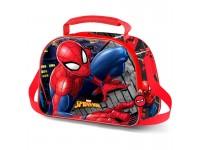 Marvel Spiderman Wall 3d Borsa Per Il Pranzo Karactermania