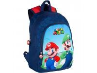 Super Mario Bros Zaino Mario E Luigi 38cm Toybags