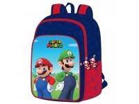 Super Mario Bros Zaino Mario E Luigi 42cm Toybags