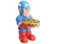 Marvel Portacaramelle Capitan America Decorazioni per Feste Rubies