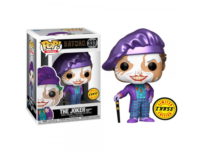 Dc Comics Batman 1989 Funko Pop Film Vinile Figura Joker Con Cappello CHASE