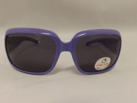 OCCHIALI DA SOLE HELLO KITTY VIOLA HE008 LENTI GRIGIE 100% UV CAT.3 SANRIO BIMBA